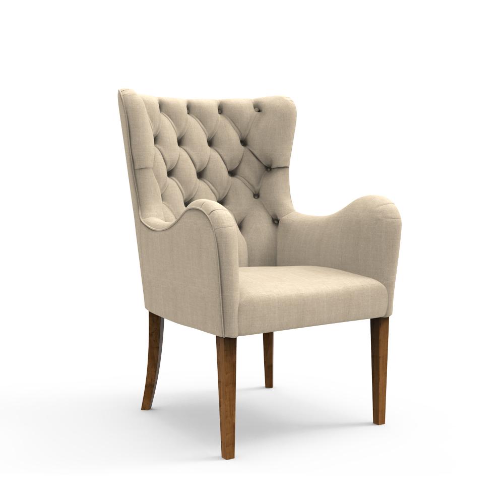 Laurel Armchair- Chiffon Beige