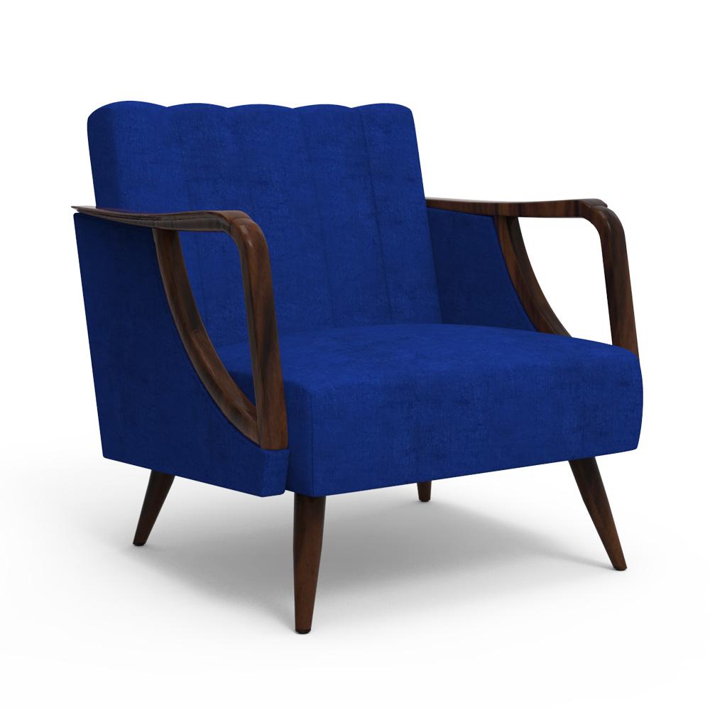 Ilex Arm chair - Berry Blue
