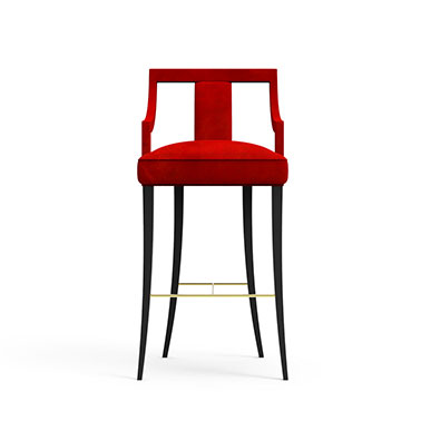 Porch High Chair-Red