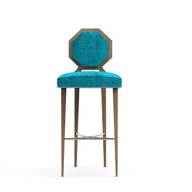 MOGUL bar stool - Blue