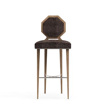 MOGUL bar stool - Black
