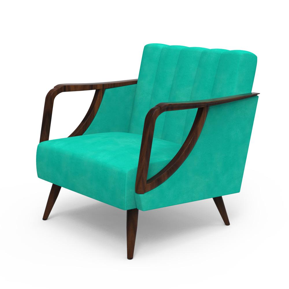 Ilex Arm chair - Arctic Blue