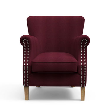 Boysenberry High back chair
