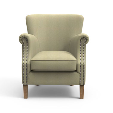 Beige High back chair