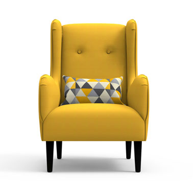 CORVUS Chair - Yellow