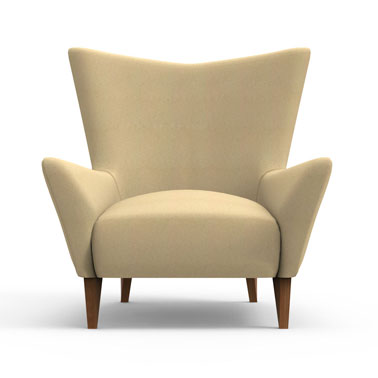 Swain Club Chair-Beige