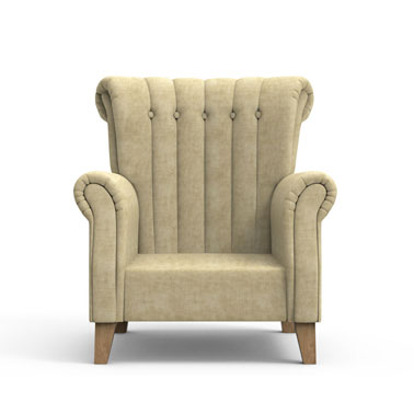 Brice Club Chair - Oat Brown