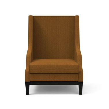 LUMMI CHAIR - CARAMEL BROWN