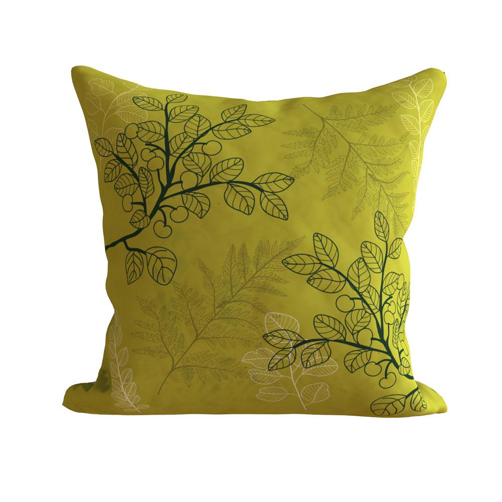 Designer Kiya Green Cushion Cover 16 x 16 inch-Set of 5