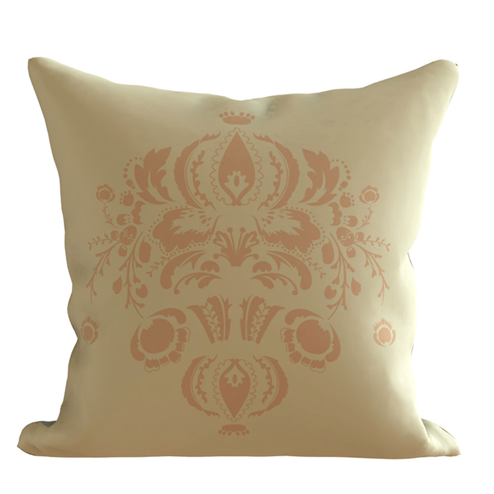 Emmy 16 x 16 inch Printed Designer Creme Cushion Cover-Set of 5