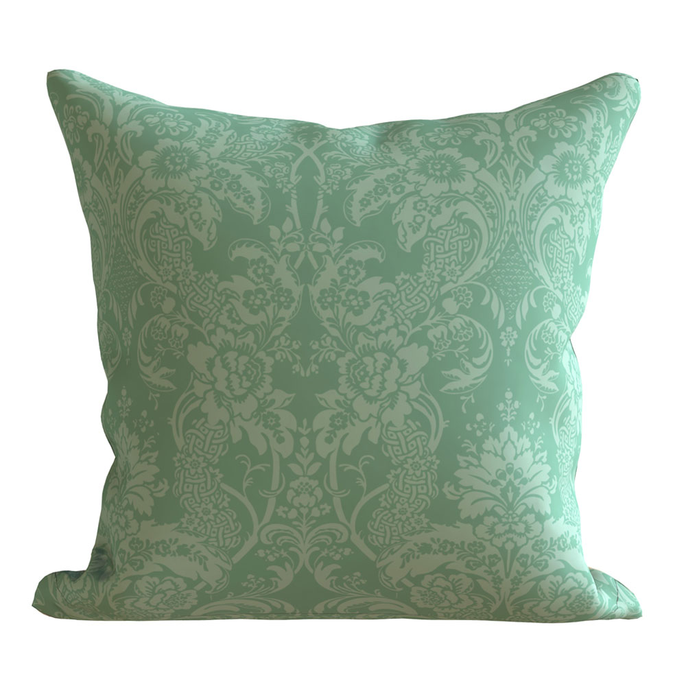 Contemporary 16 x 16 inch Jerry Teal Cushion Cover-Set of 5