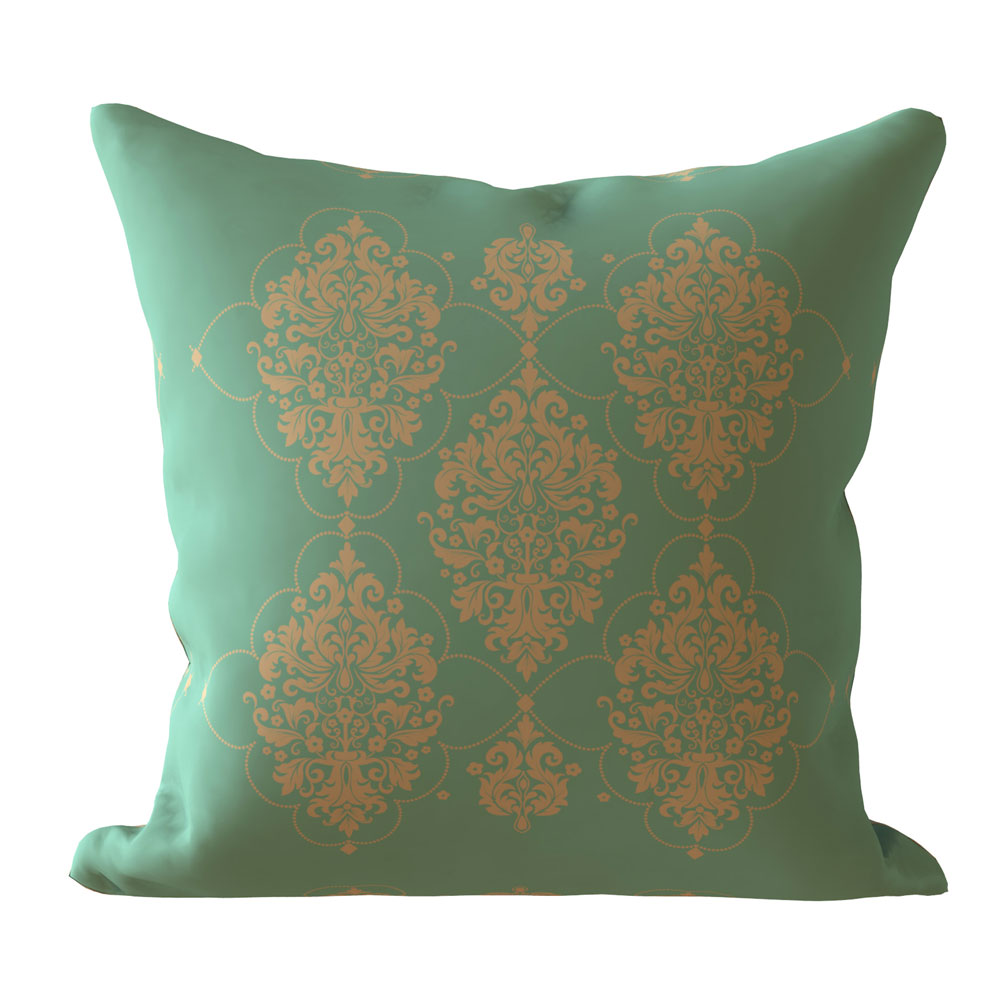 Aspen Designer 16 x 16 inch Teal Cushion Cover-Set of 5