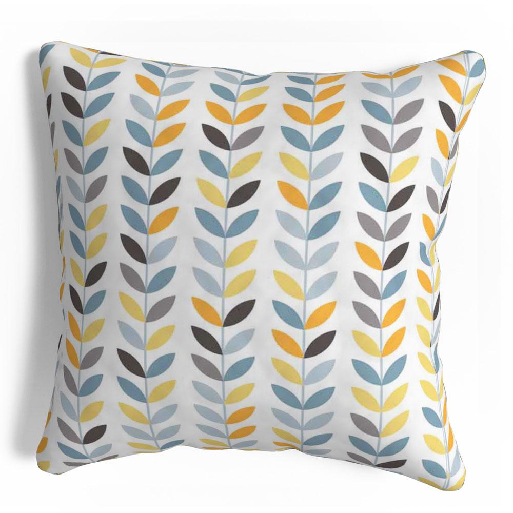 Anya Printed Grey Modern 16 x 16 inch Cushion Cover-Set of 5