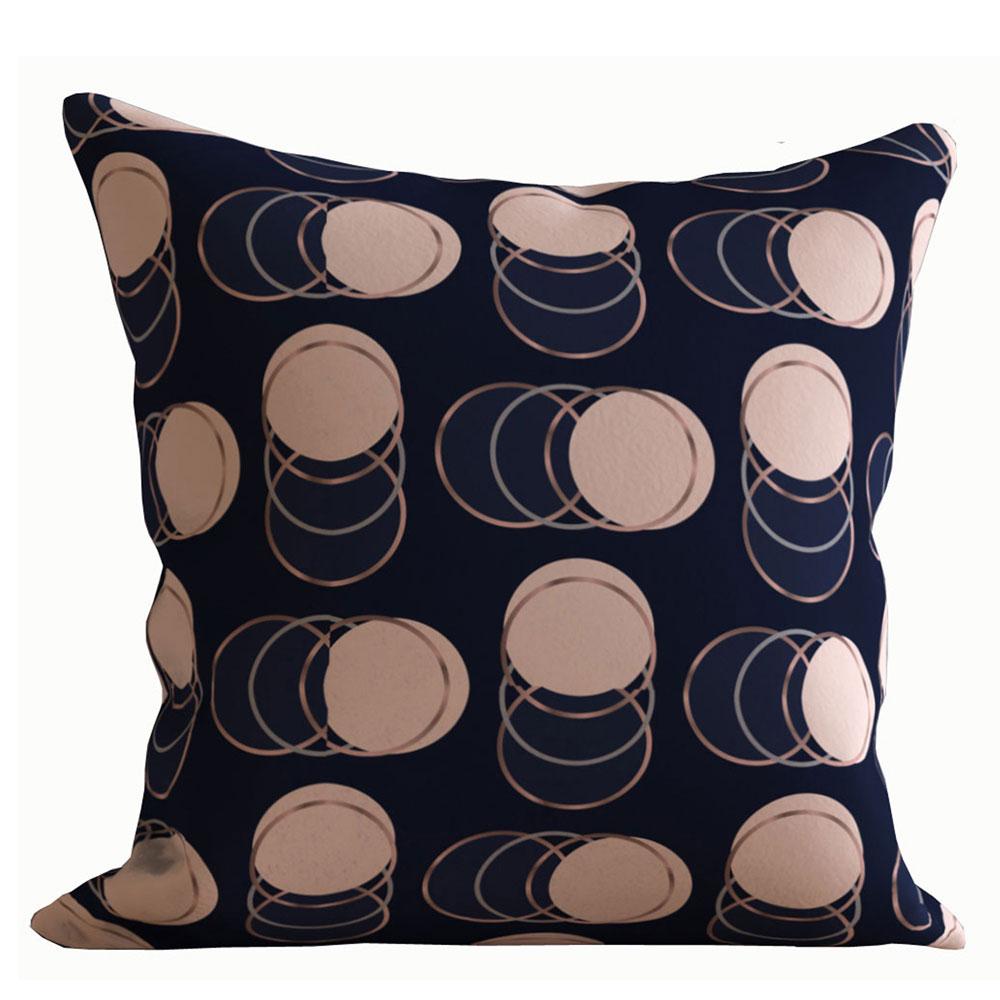 Designer 16 x 16 inch Misha Black Cushion Cover-Set of 5