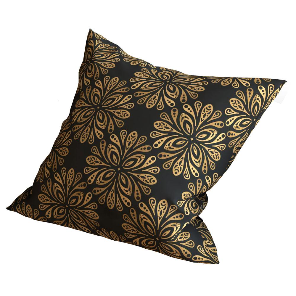 Designer 16 x 16 inch Star Flake Dark Cushion Cover-Set of 5