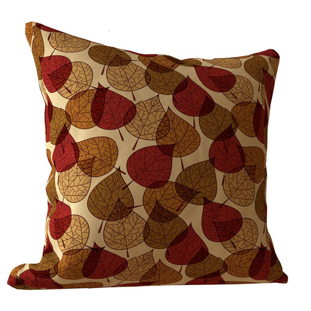 Designer 16 x 16 inch Autumn Beige Cushion Cover-Set of 5
