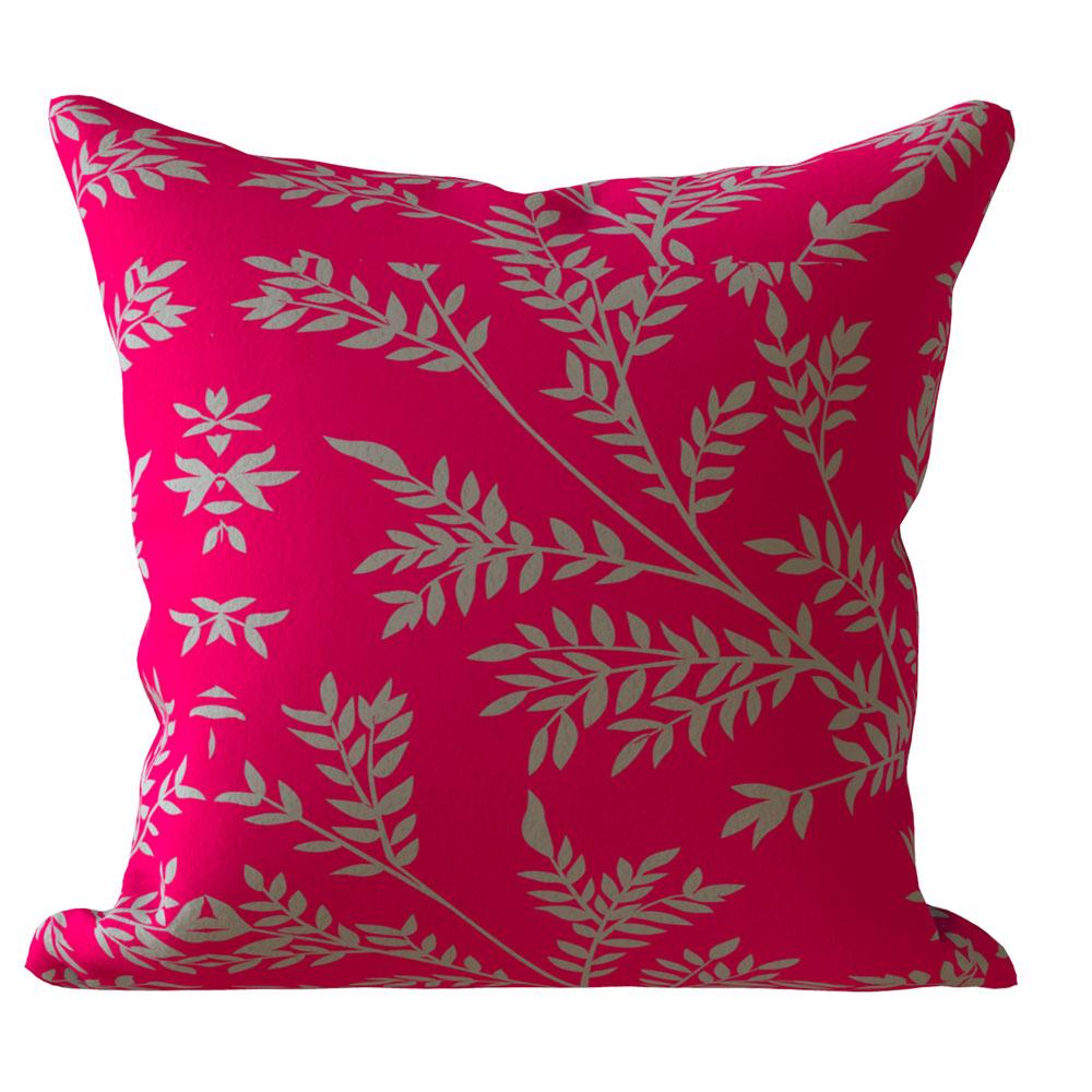 Contemporary 16 x 16 inch Bonita Pink Cushion Cover-Set of 5
