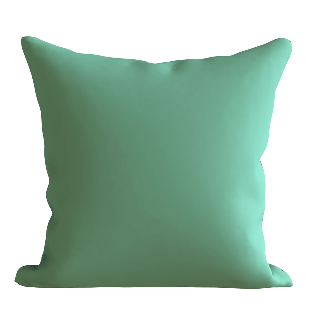 Contemporary Blue 16 x 16 inch Ziva Plain Cushion Cover-Set of 5