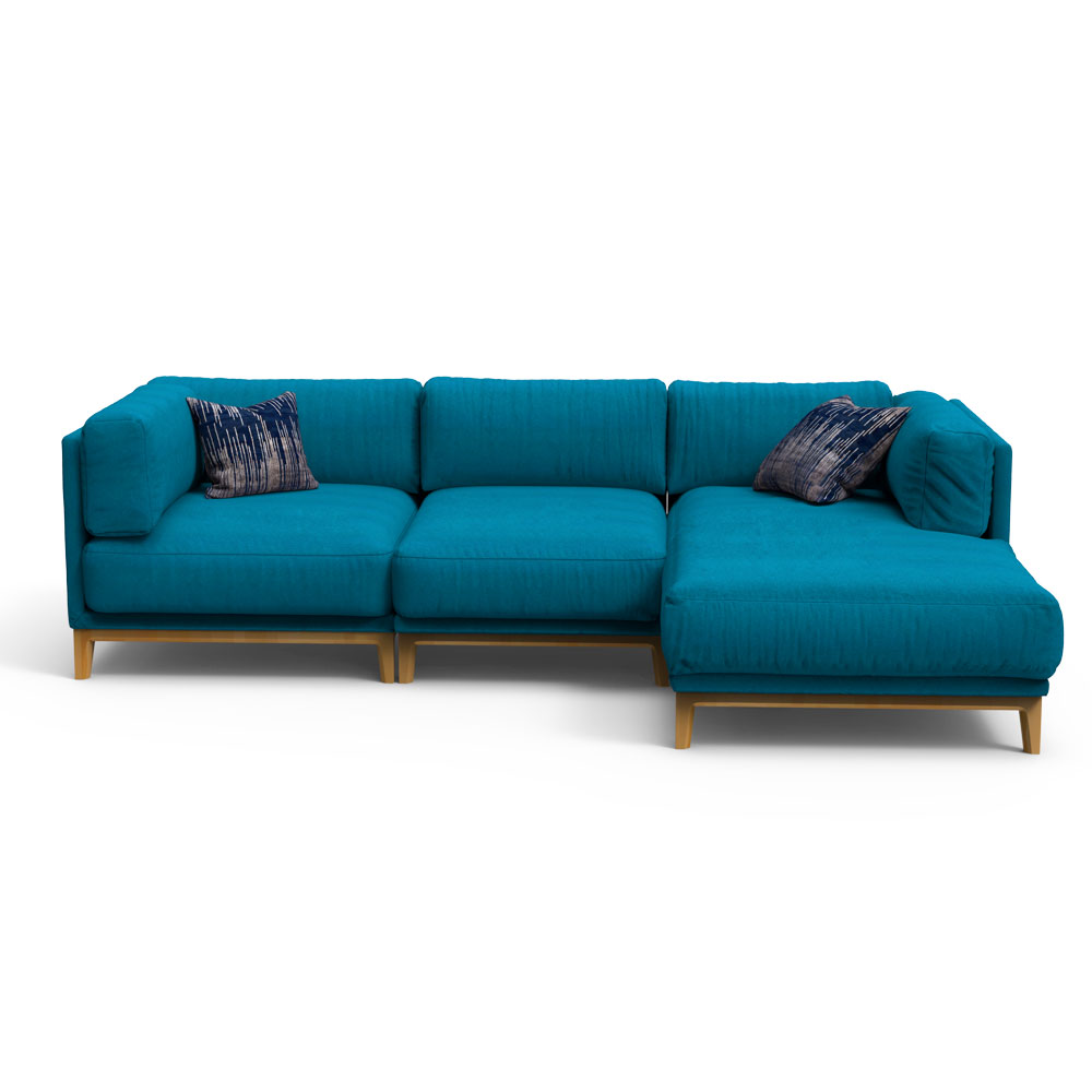 NEO Sectional Sofa - Blue