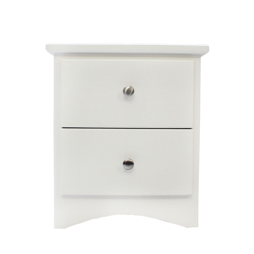 EXECUTIVE SIDE TABLE - SNOW WHITE
