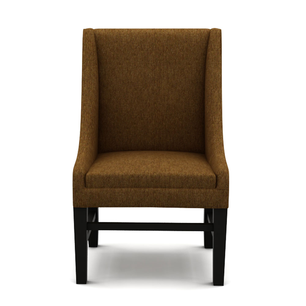 LUMMI DINING CHAIR - CARAMEL BROWN