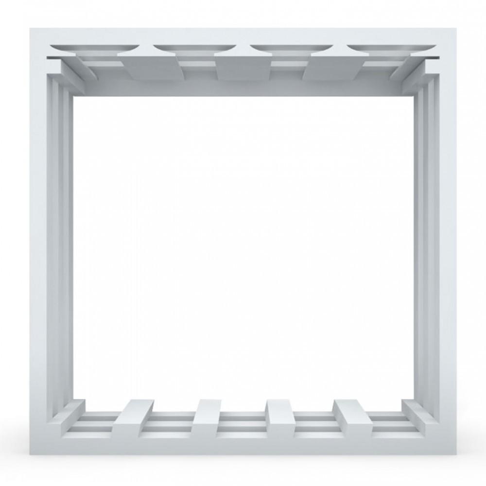 WALL BAR UNIT - WHITE