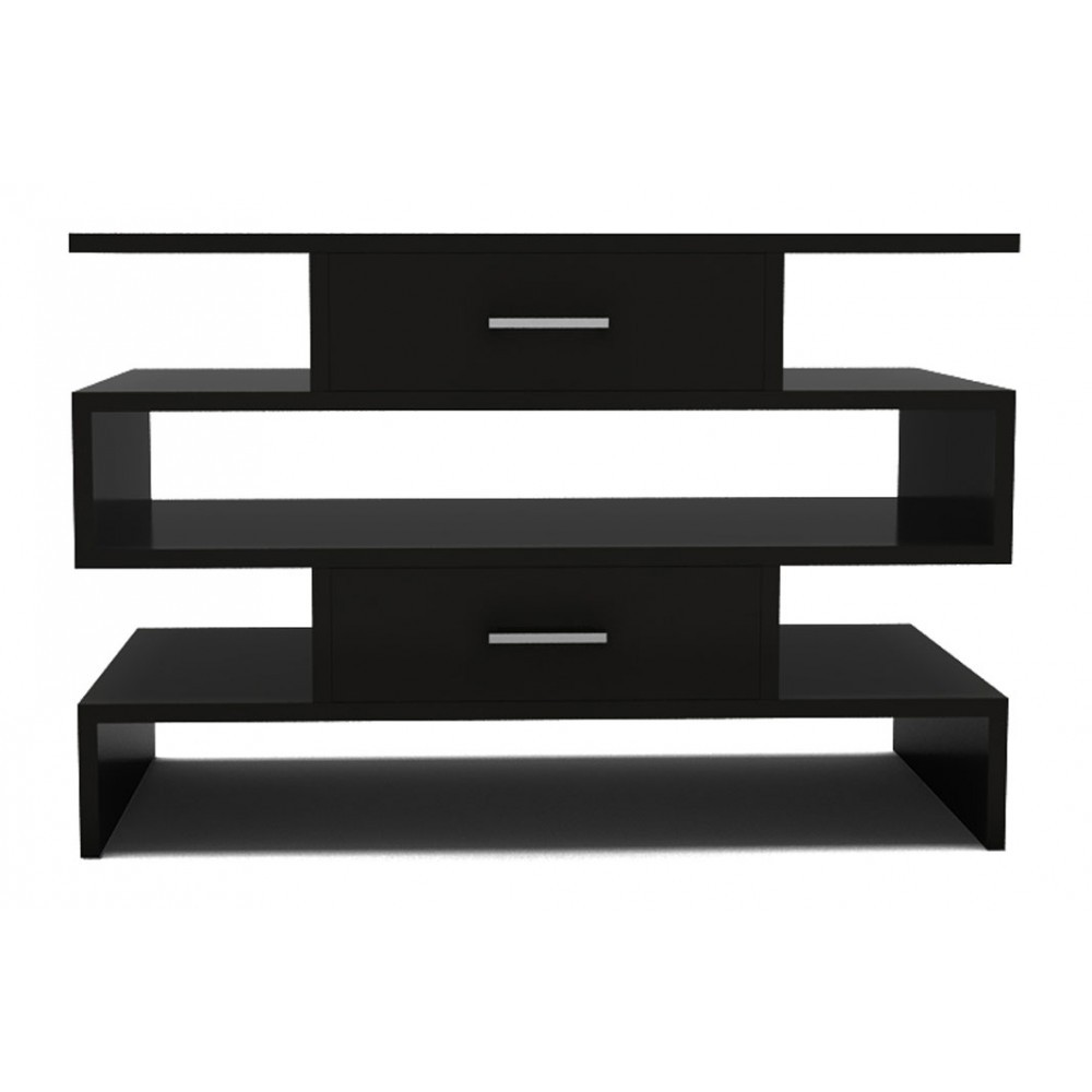 STEPPED CABINET - MIDNIGHT BLACK