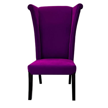 HATTER CHAIR - PURPLE