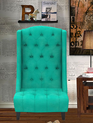 EDWARD CHAIR - SEAFOAM GREEN