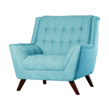 COMFORT ARMCHAIR - TEAL BLUE