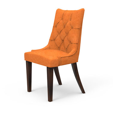BAXTON TUFTED BACK CHAIR - YAM
