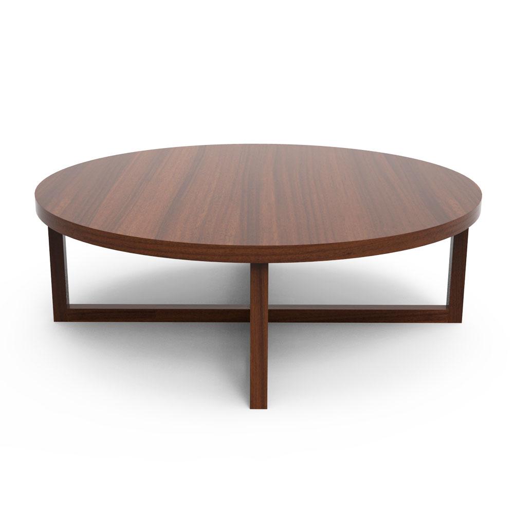 BROWN CROSS COFFEE TABLE