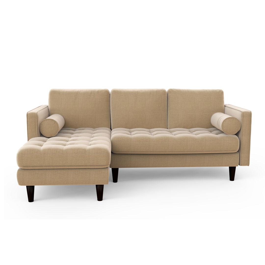 Crayola Canary   Sectional Sofa