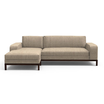Doric Sectional Sofa -  Bone White