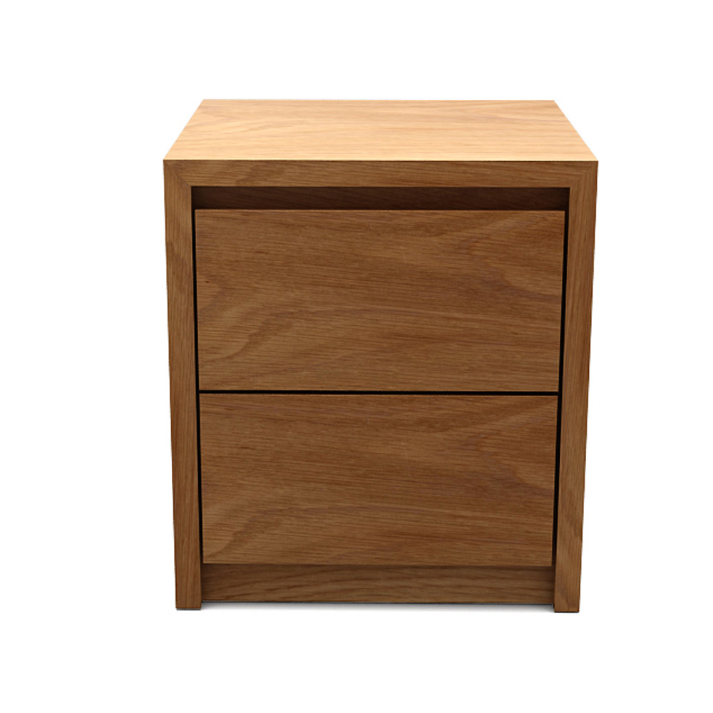 RF CUBE SIDE TABLE - NATURAL