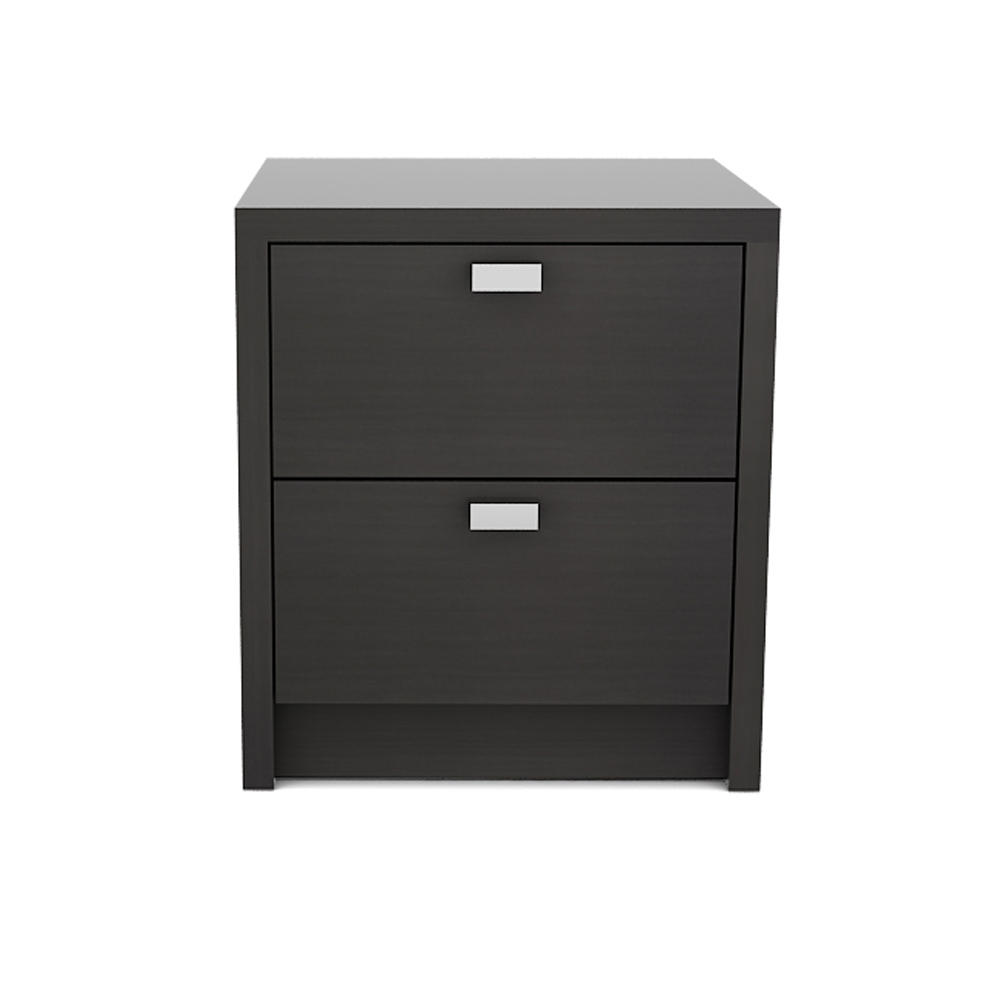 L CUBE SIDE TABLE - BLACK