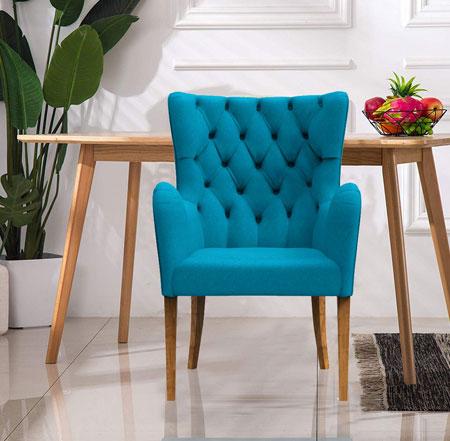 Laurel Armchair Aegean Blue
