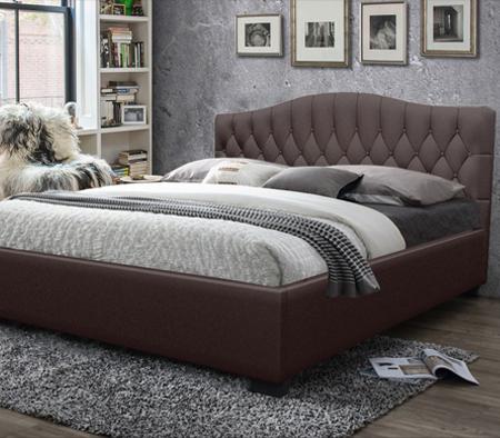 Winser Queen size Bed Brown