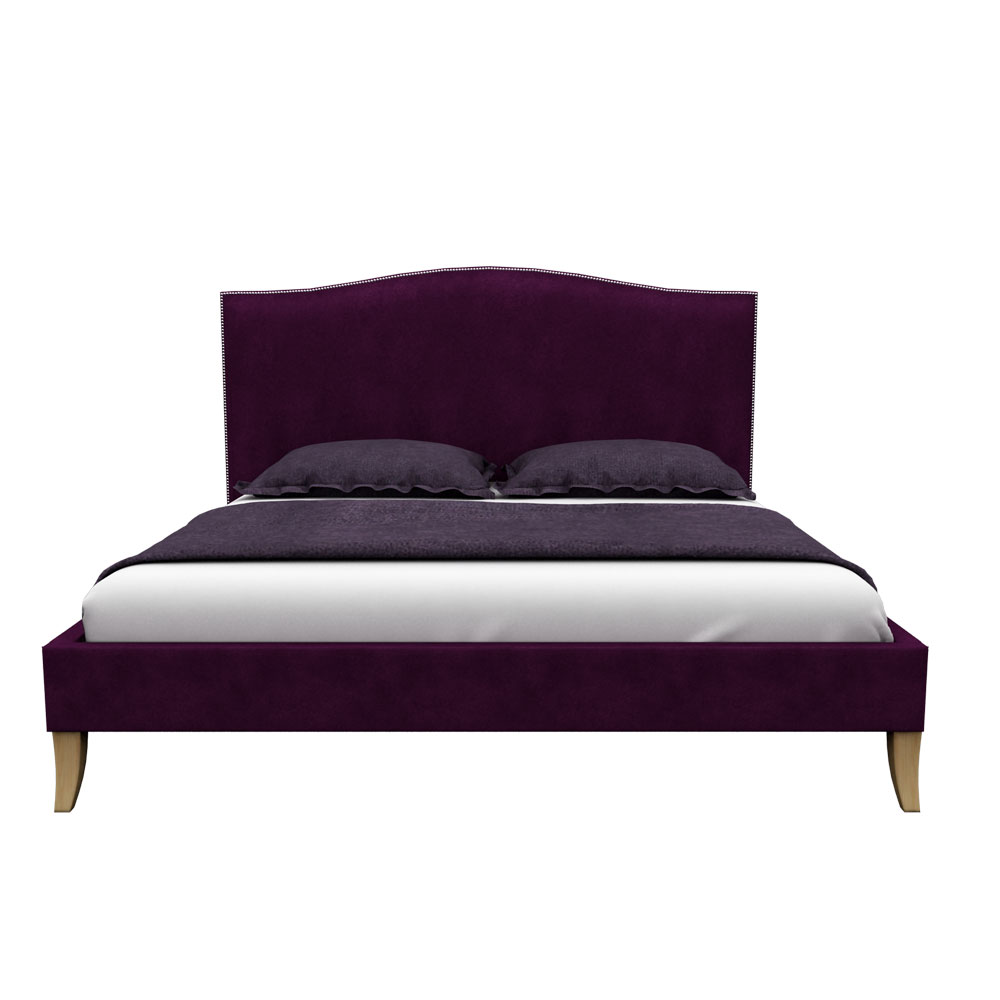 Pinup Queen size Bed-Violet