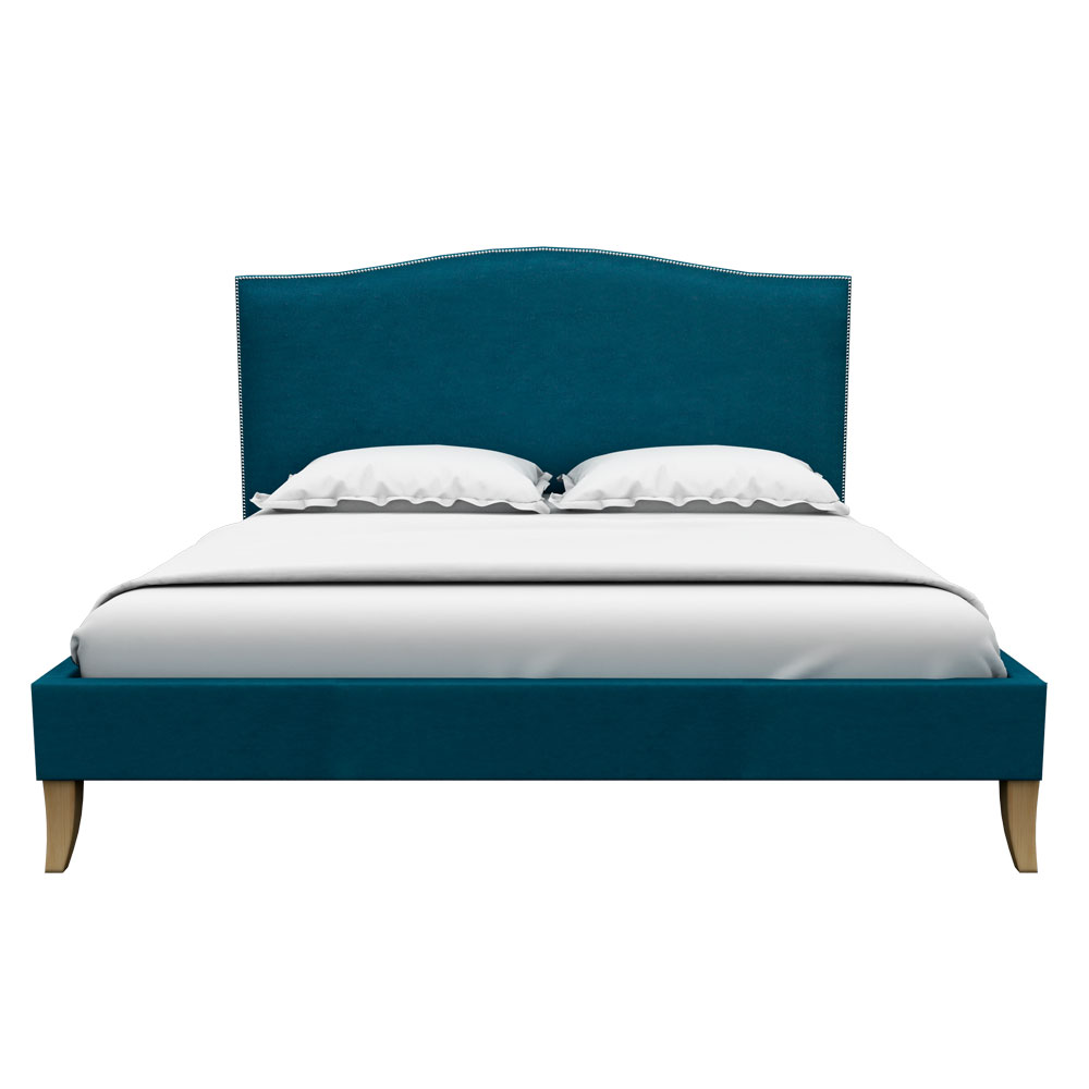 Pinup Queen size Bed-Blue