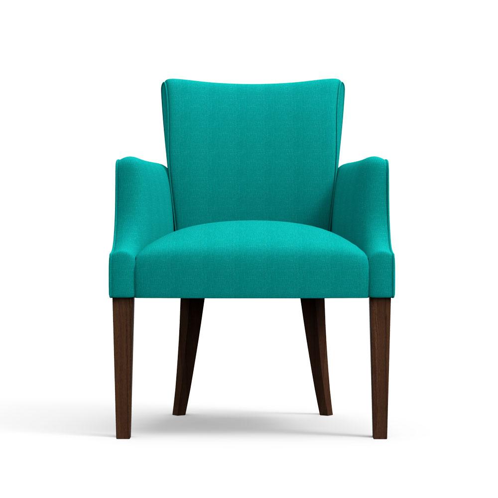 Floret Dining Chair-Arctic Blue