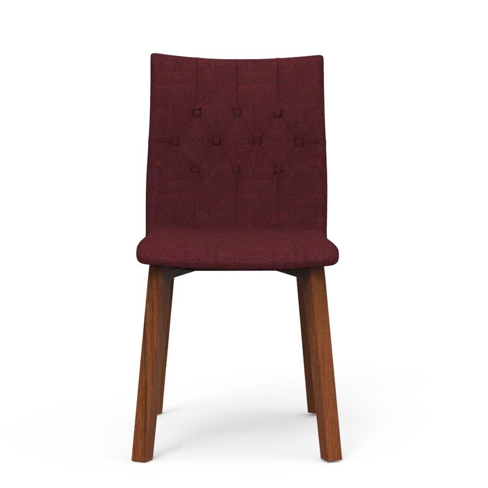 Spline Chair - Mahogany Red