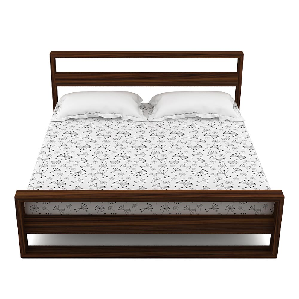 PLATFORM BED - KING SIZE