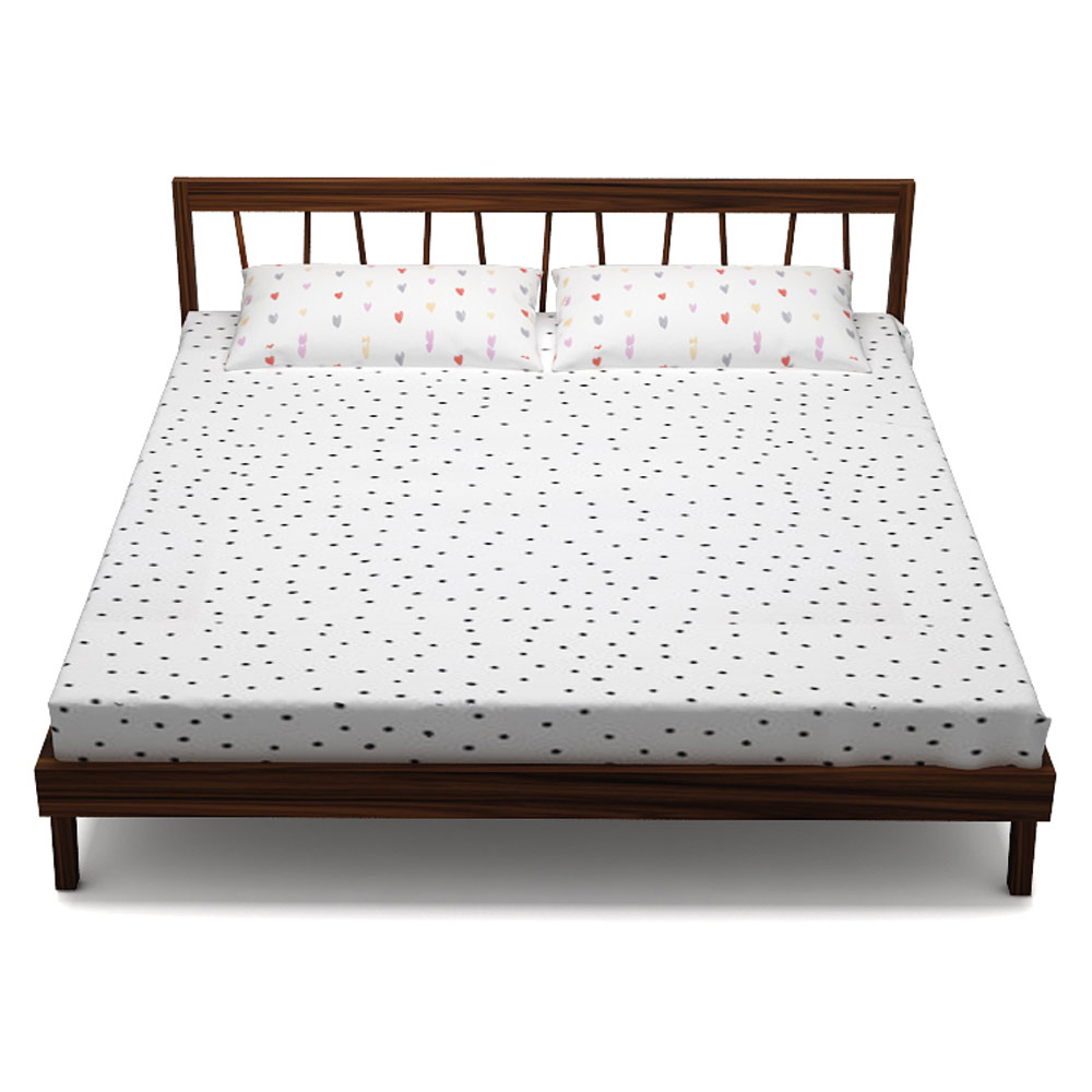 BARS BED - QUEEN SIZE