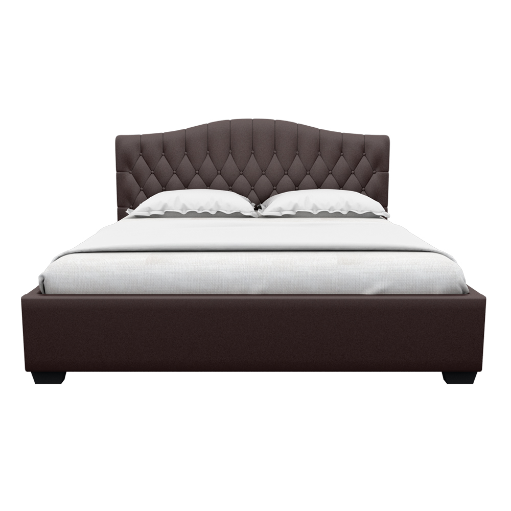 Winser King size Bed-Brown
