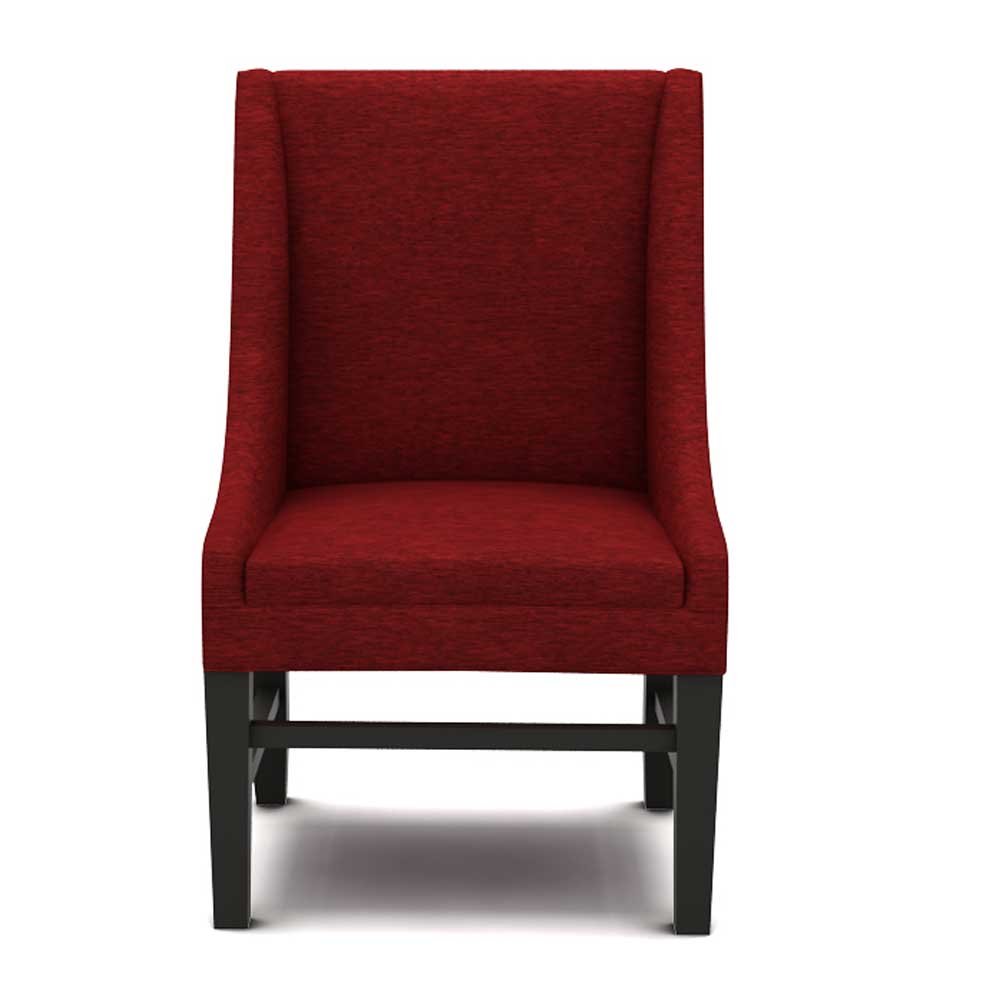 LUMMI DINING CHAIR - SCARLET RED