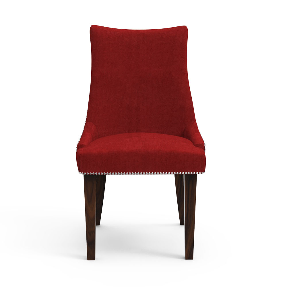 RAFWAY STUD CHAIR - RED