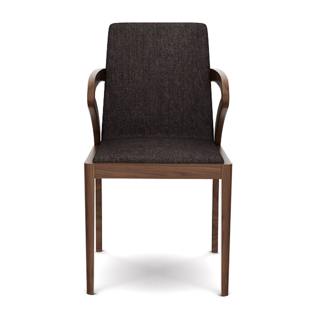 ELLIPSE ARMCHAIR - CHARCOAL GREY